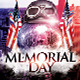 4th July/ Memorial Day Party Flyer Template - GraphicRiver Item for Sale