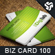 Business Card Design 100 - GraphicRiver Item for Sale