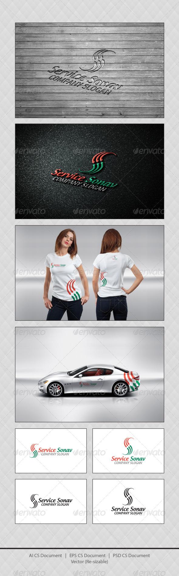 GraphicRiver Service Sonav S Logo Templates 4726995