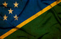 Solomon islands waving flag - PhotoDune Item for Sale