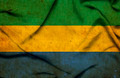 Gabon waving flag - PhotoDune Item for Sale