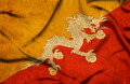 Bhutan waving flag - PhotoDune Item for Sale