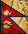 Nepal waving flag - PhotoDune Item for Sale
