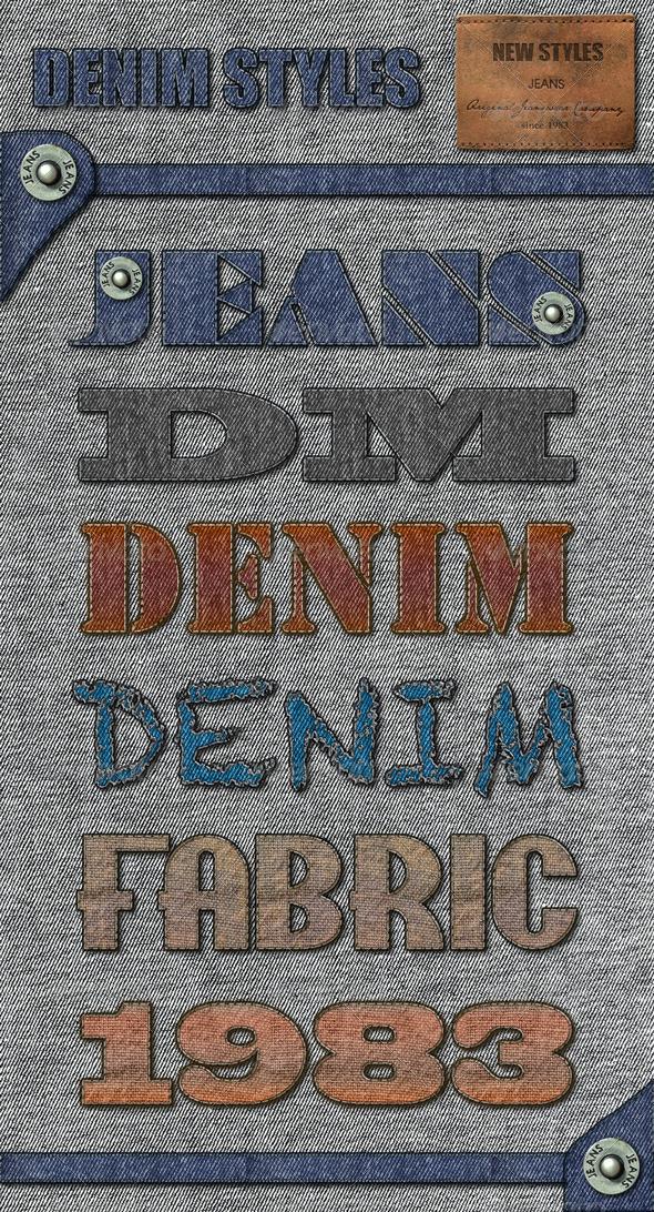 GraphicRiver Denim Styles 4727508