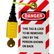 lock out safety tag - PhotoDune Item for Sale