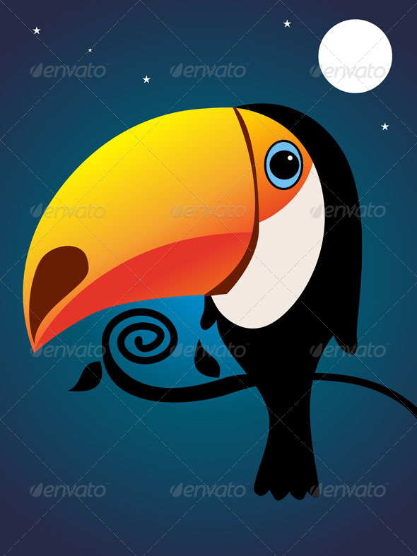 GraphicRiver Toucan 4728588