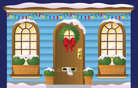 GraphicRiver Holiday Doorway 4728590