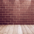 Wood plank with brick wall texture background - PhotoDune Item for Sale