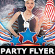 Independence Day Party Flyer Template