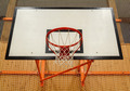 Basketball hoop cage in public gym - PhotoDune Item for Sale