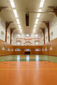 Empty interior of public gym with basketball court - PhotoDune Item for Sale