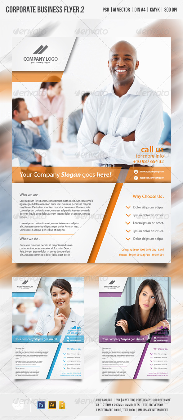 GraphicRiver Corporate Business Flyer vol.2 4731618
