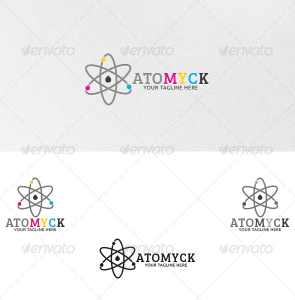 GraphicRiver Atomyck Logo Template 4715865
