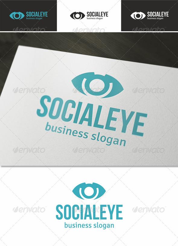 GraphicRiver Social Eye Logo 4732049