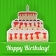 Set of Four Birthday Cards - GraphicRiver Item for Sale