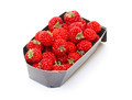 Ripe Red strawberries in paper box - PhotoDune Item for Sale