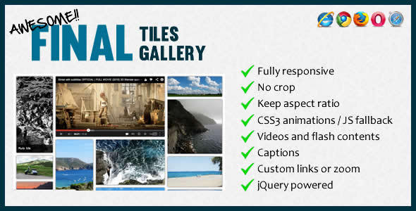 CodeCanyon Final Tiles Gallery 4734090