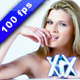 Attractive Woman Thinking - VideoHive Item for Sale