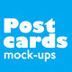 Postcards Mock-ups - GraphicRiver Item for Sale