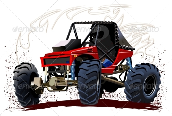GraphicRiver Vector Cartoon Buggy 4737429