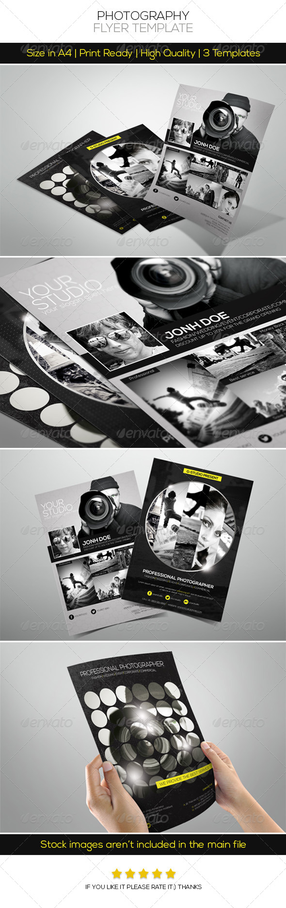 GraphicRiver Premium Photography Flyer 4738010