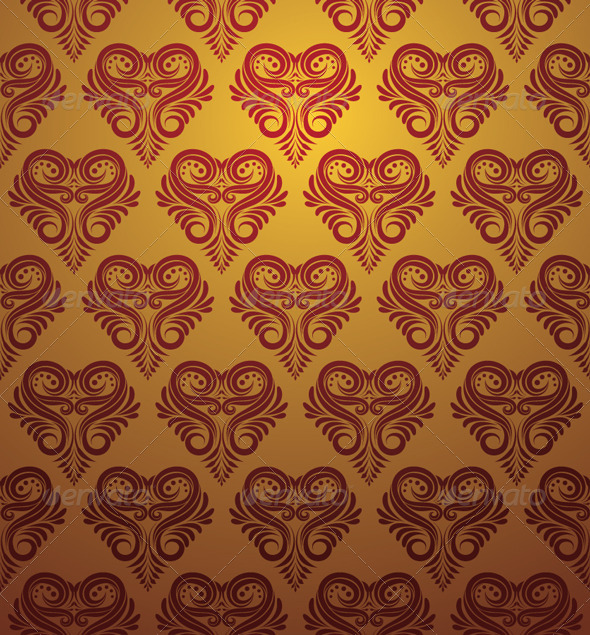 Love Ornamental Pattern - Patterns Decorative