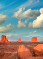 Wonderful view of famous Buttes of Monument Valley at sunset, Ut - PhotoDune Item for Sale