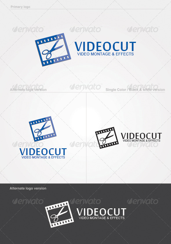 GraphicRiver Videocut Logo Template 4738533