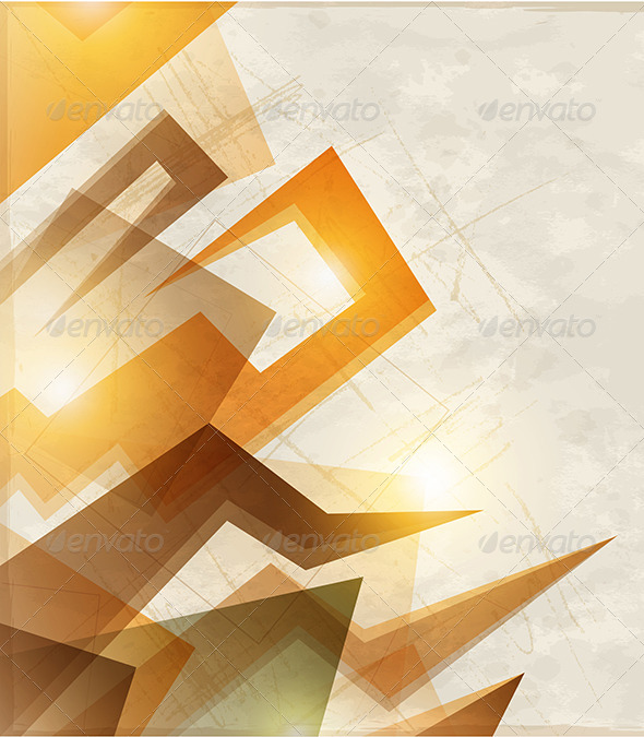 GraphicRiver Abstract Orange Background 4739532