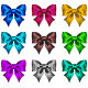 Set of Textured Bows - GraphicRiver Item for Sale