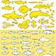 Sea Fishes and Creatures - GraphicRiver Item for Sale