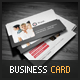 Clean Corporate Red Business Card - GraphicRiver Item for Sale