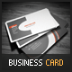 Consonant Business Card - GraphicRiver Item for Sale