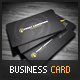 Black - yellow Business Card - GraphicRiver Item for Sale