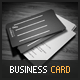 Flowbook Business Card - GraphicRiver Item for Sale