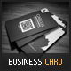 Black Creative Business Card - GraphicRiver Item for Sale