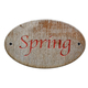 Wooden sign of Spring. - PhotoDune Item for Sale