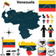 Map of Venezuela - GraphicRiver Item for Sale