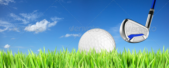 PhotoDune Golf theme background 494739