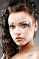 Beautiful woman with fantasy makeup - PhotoDune Item for Sale