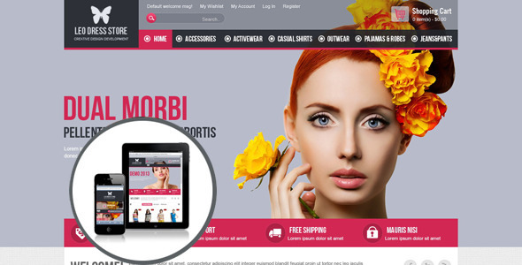 Leo Dress Store Prestashop Theme - Fashion PrestaShop