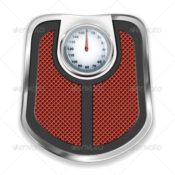 GraphicRiver Bathroom Scale Vector Illustration 4744906