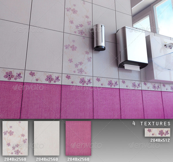 3DOcean Professional Ceramic Tile Collection C033 494852