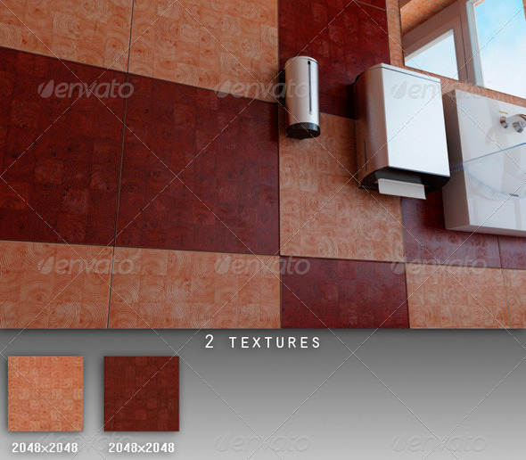 3DOcean Professional Ceramic Tile Collection C038 494867