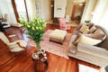Classy living room with flowers - PhotoDune Item for Sale