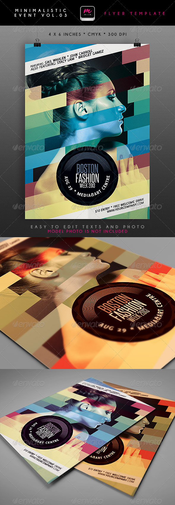 GraphicRiver Minimalistic Event Flyer 3 4746047
