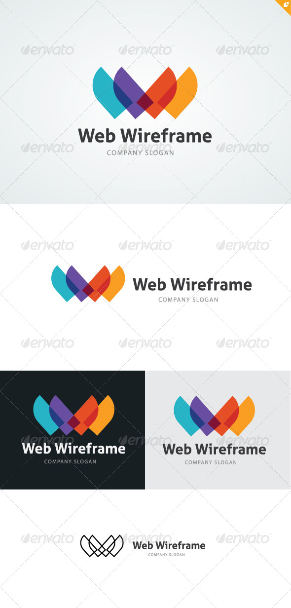 GraphicRiver Web Wireframe Logo 4746059