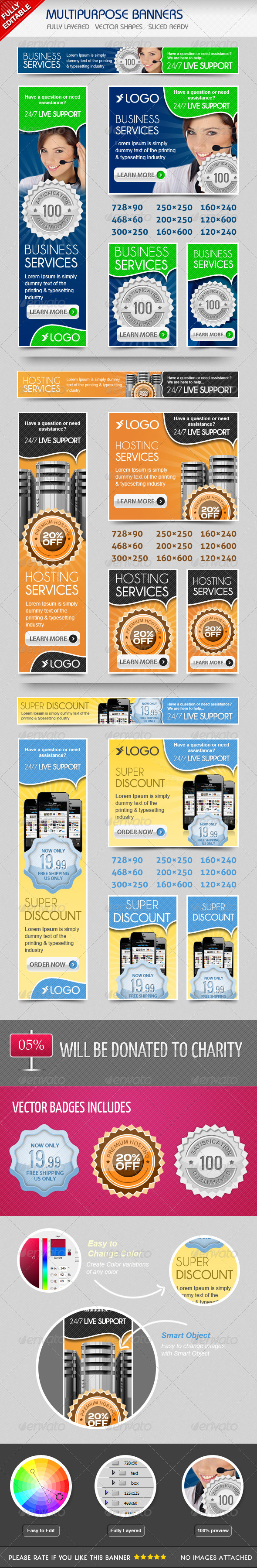 GraphicRiver Multiporpose Banners 4746413