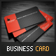 Rounded Corner Business Card - GraphicRiver Item for Sale