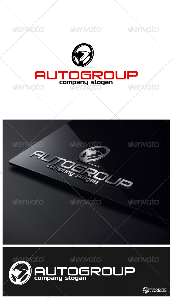 GraphicRiver Auto Group Logo Templates 4746605